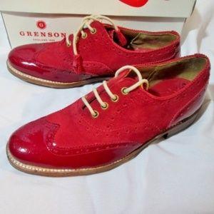 NEW GRENSON ENGLAND MARTHA Suede Shoe Loafer